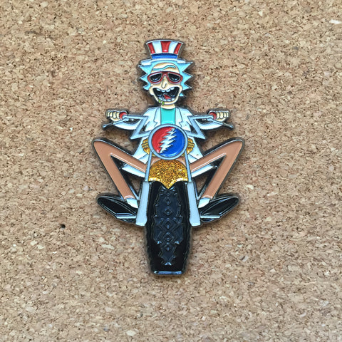Grateful Dead - Motorcycle Rick Pin