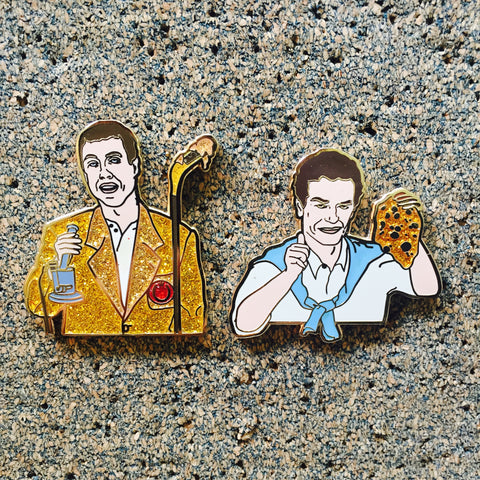 Dabby Gilmore & Shooter McDabbin - Matching Set Pin