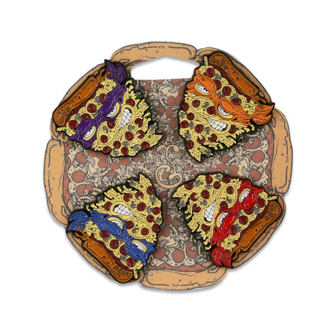 Vincent Gordon Pizza Set Pin