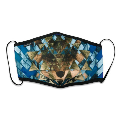 Spirit Fox Midnight Face Mask