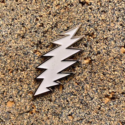 Grateful Dead - Glow in the Dark Bolt Pin