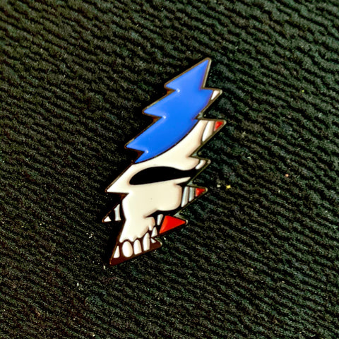 Grateful Dead - Stealie Bolt Pin