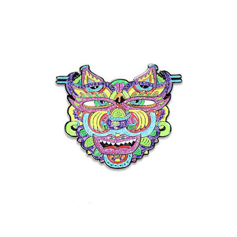 Chris Dyer - Warrior Pin
