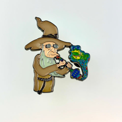Farnsworth Holophonor (Green) Pin