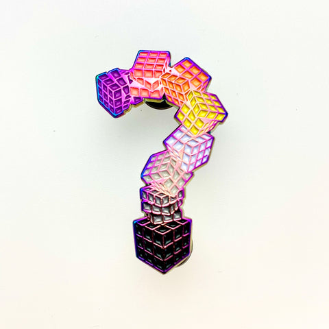 Tipper - Rubik's Cube ? Rainbow Pin