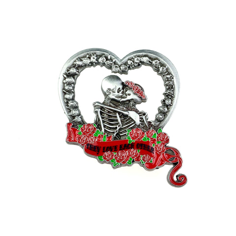 Grateful Dead - They Love Each Other Silver V3 Pin