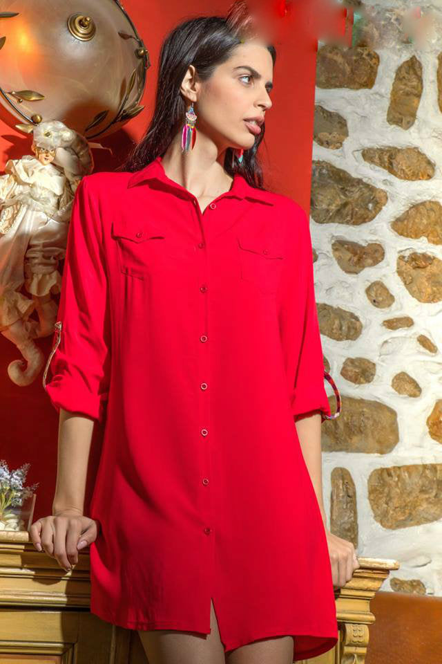 Shirt Dress mini