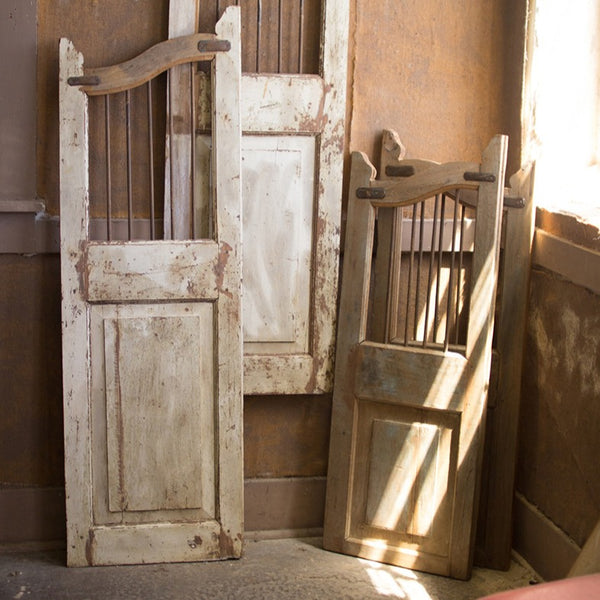 Wood & Iron Saloon Doors