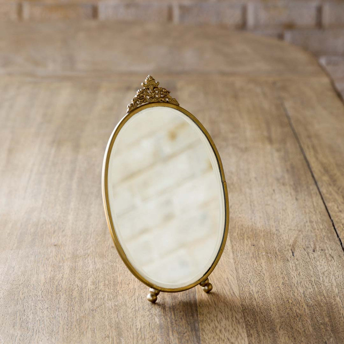 Antique Counter Mirror