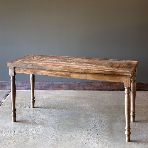 Reclaimed Wood Large Console Table