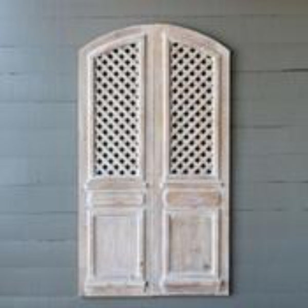 Arched Lattice Work Panels