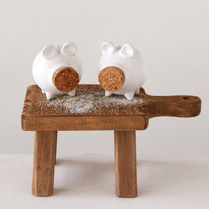 Pig Salt and Pepper Shaker