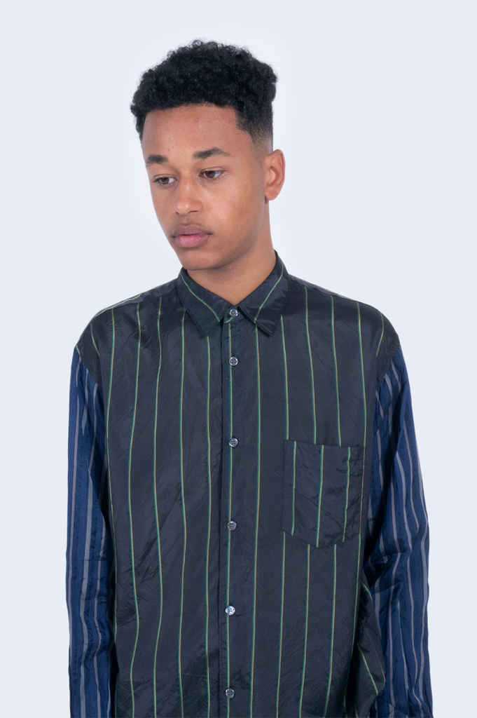 Stripes Shirt Black/Navy