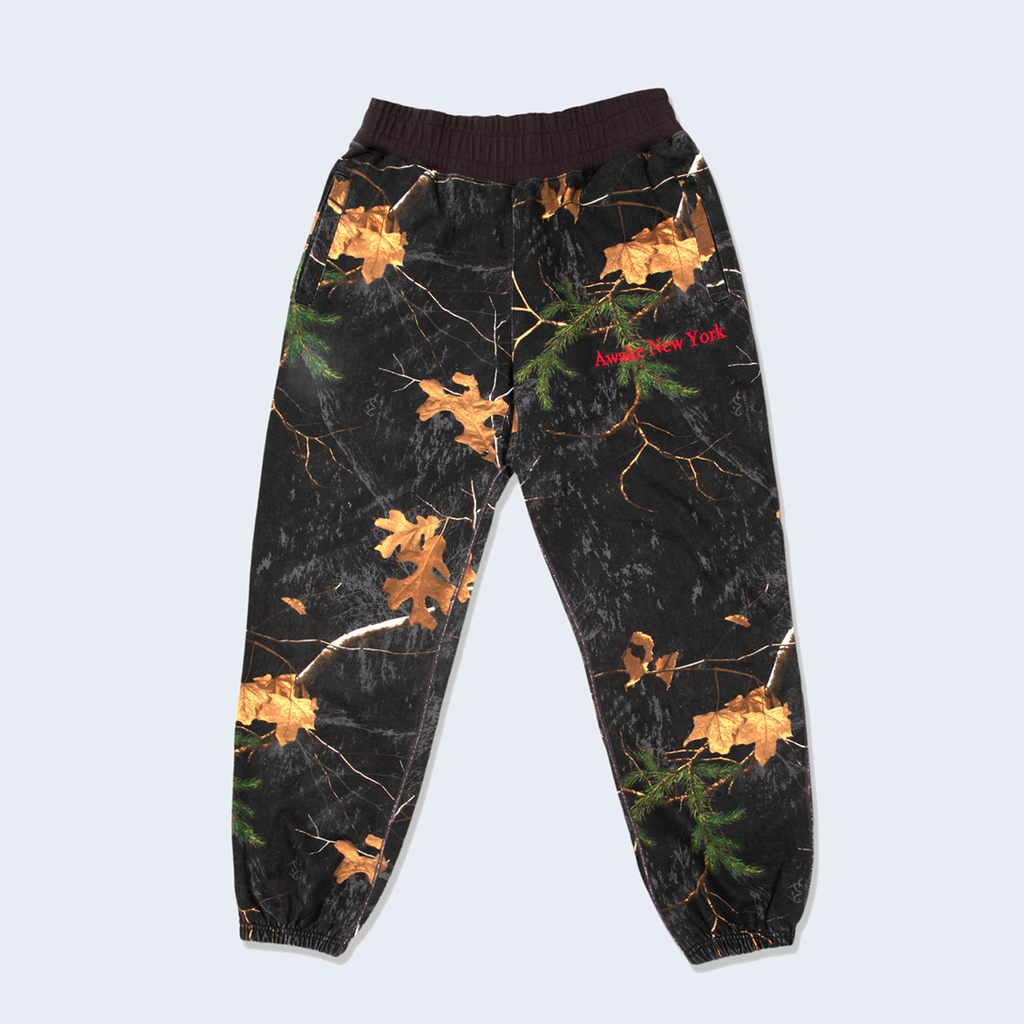 Classic Embroidered Sweatpants Real Tree