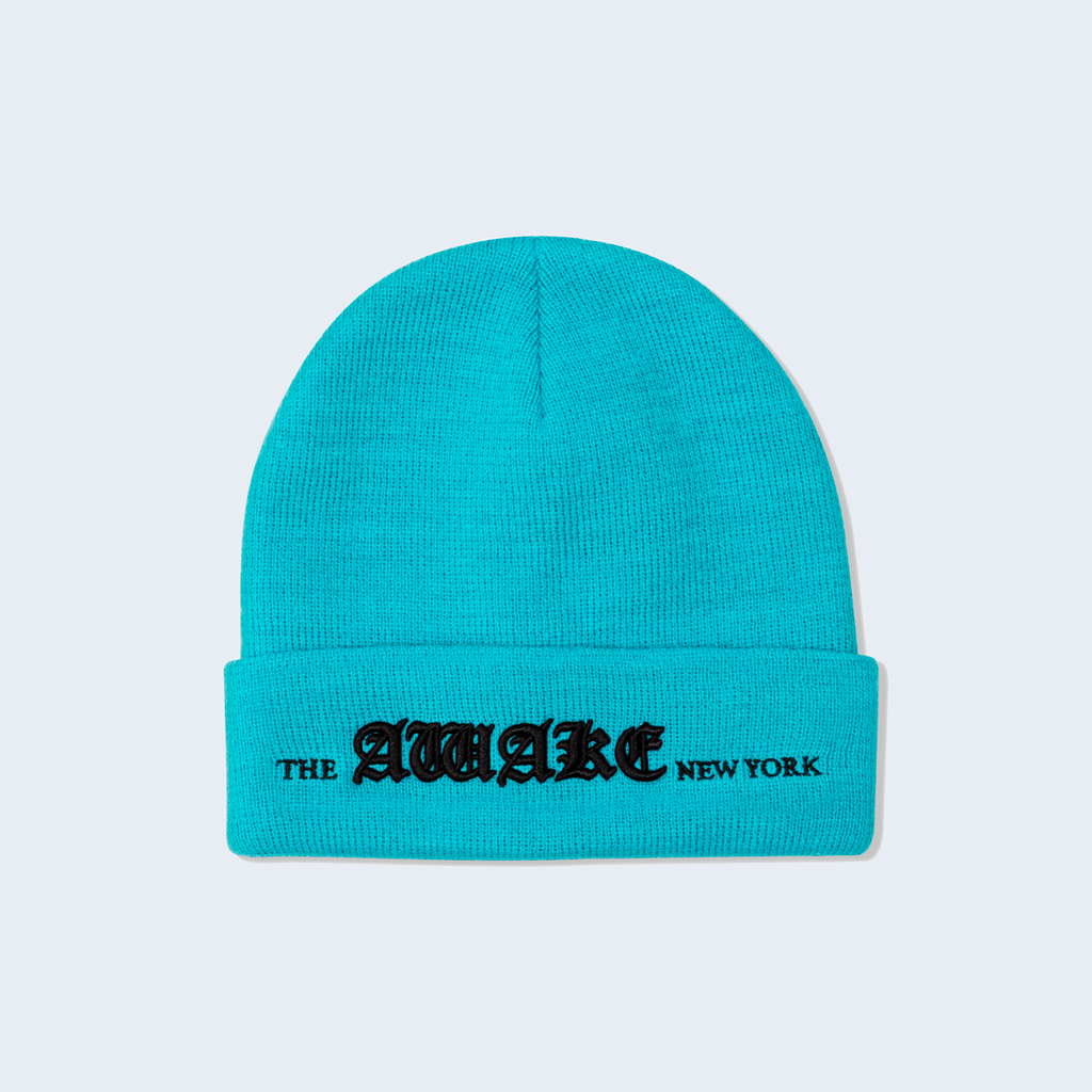 Old English Logo Beanie Teal