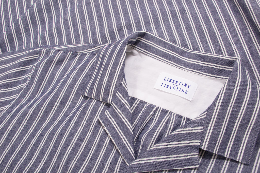 Cave S/S Blue Stripe
