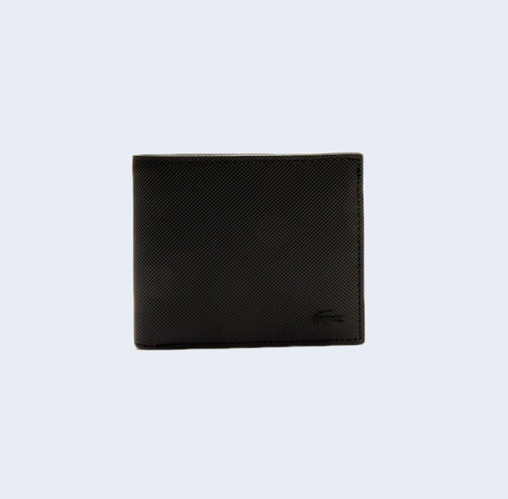 S Billfold Coin Polyvinyl Black