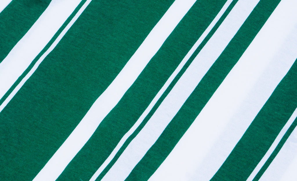 Crewneck T-Shirt White/Green