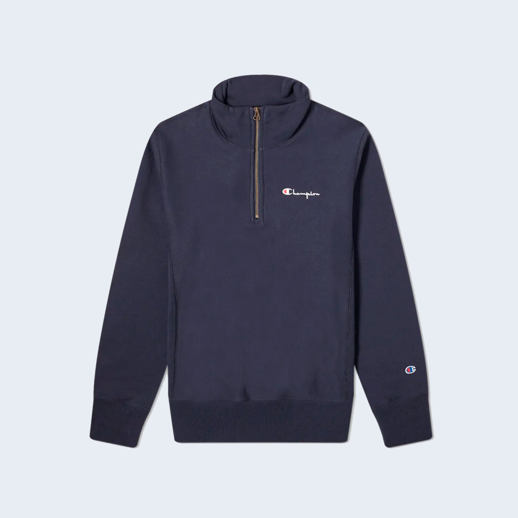 Half Zip Sweater Navy