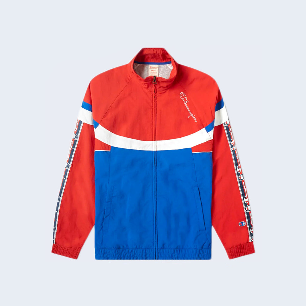 Full Zip Top Red