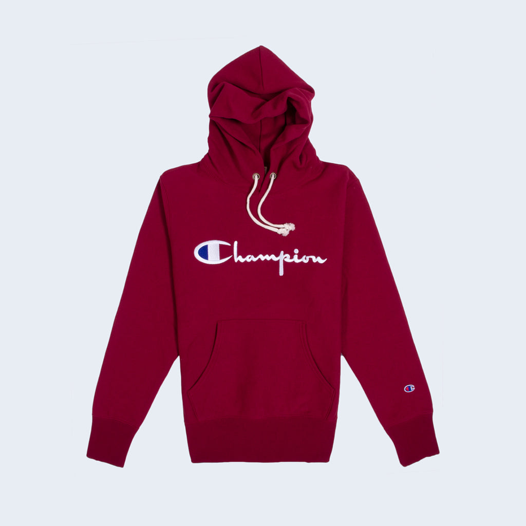 Hooded Sweatshirt Burgundy