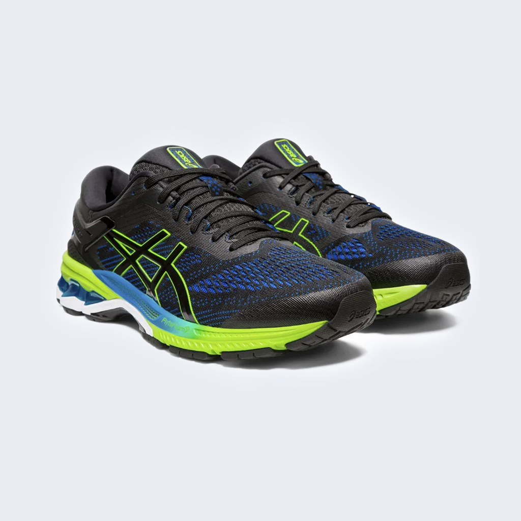 Gel Kayano 26 Black / Blue Electric