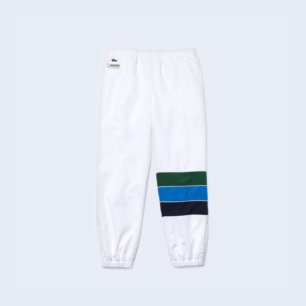 Trackpant White Blue Green
