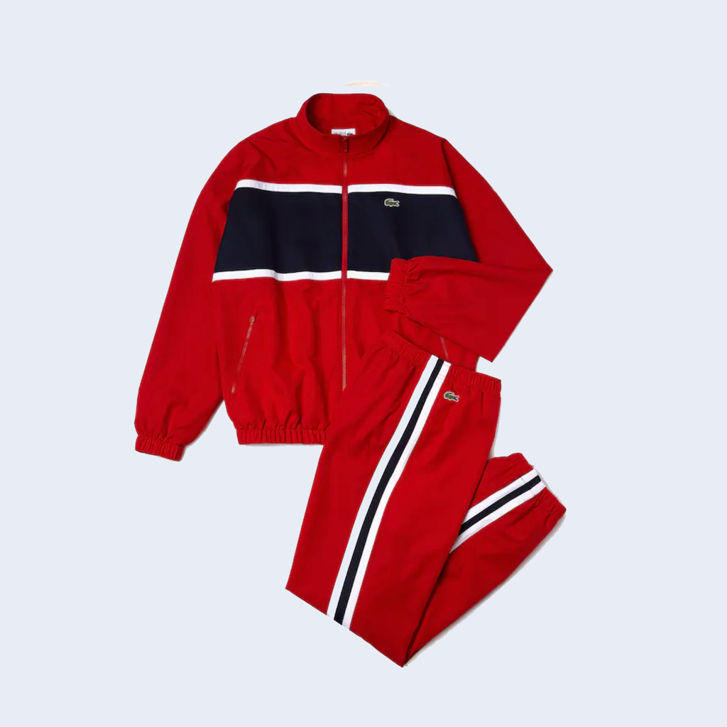 Track Top Red / Black
