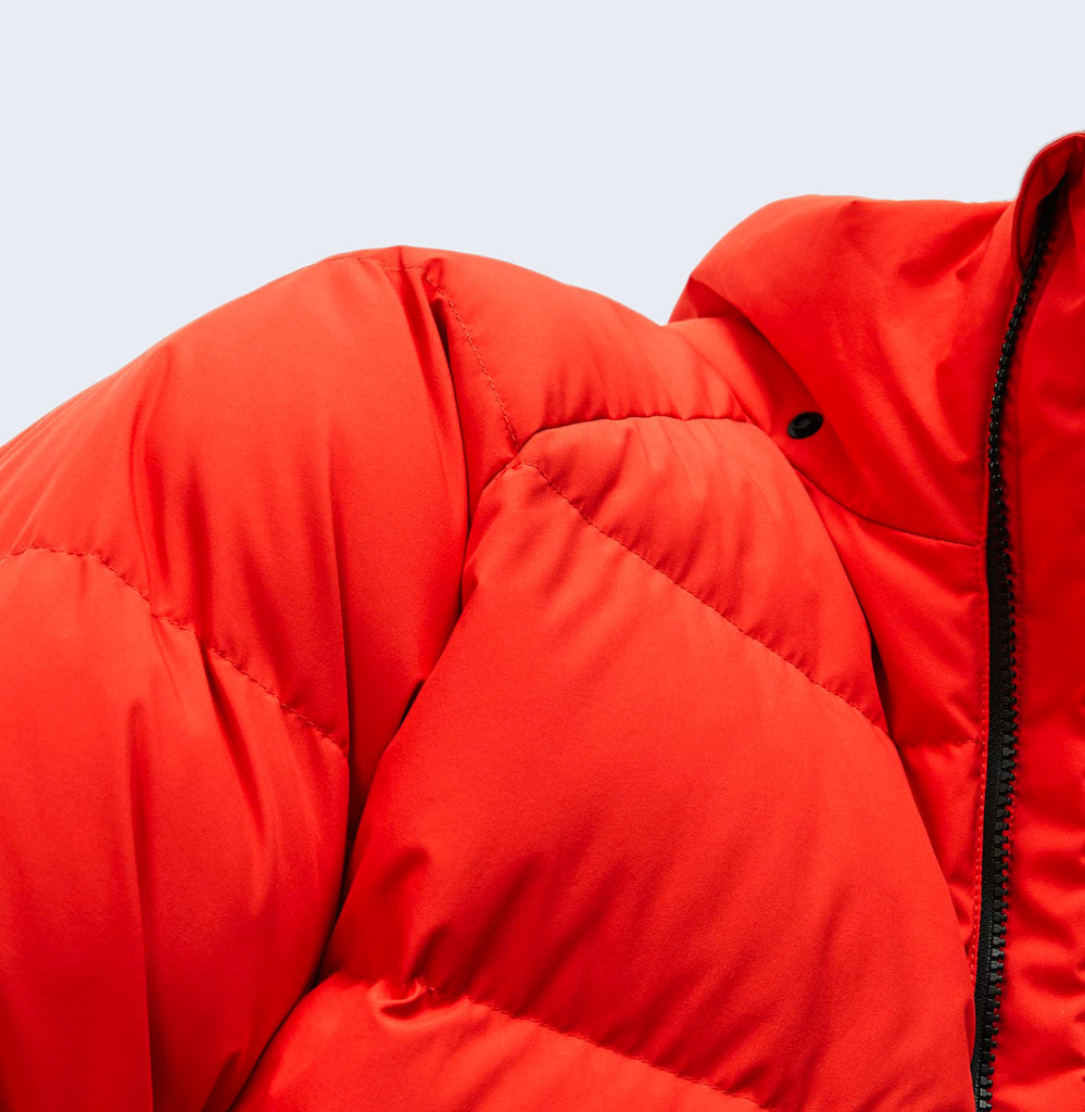 Puffer Flash Red