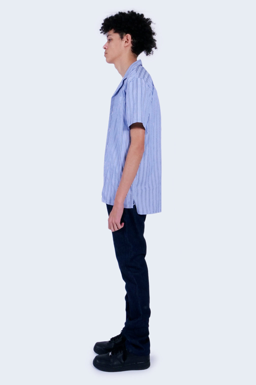 Cave S/S Royal Stripe