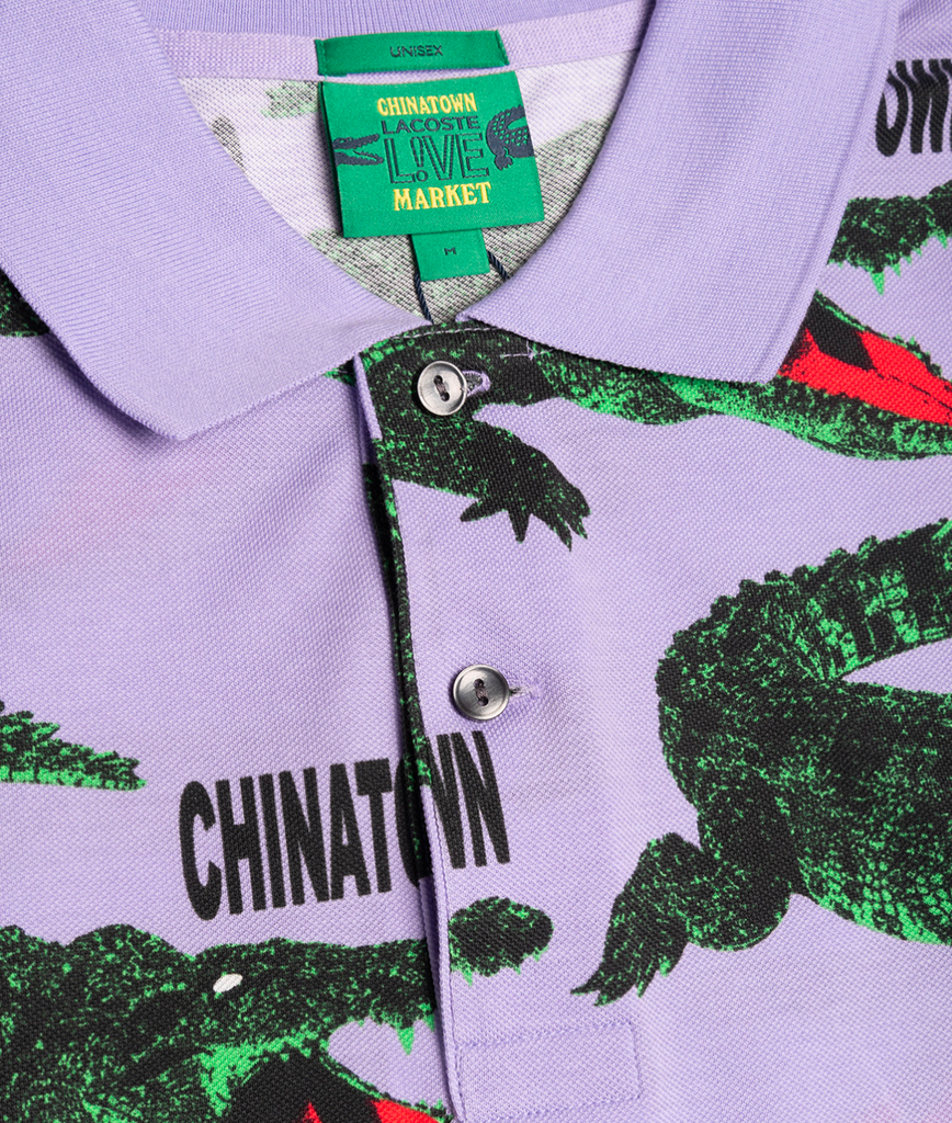 Chinatown Market Polo SS Purple