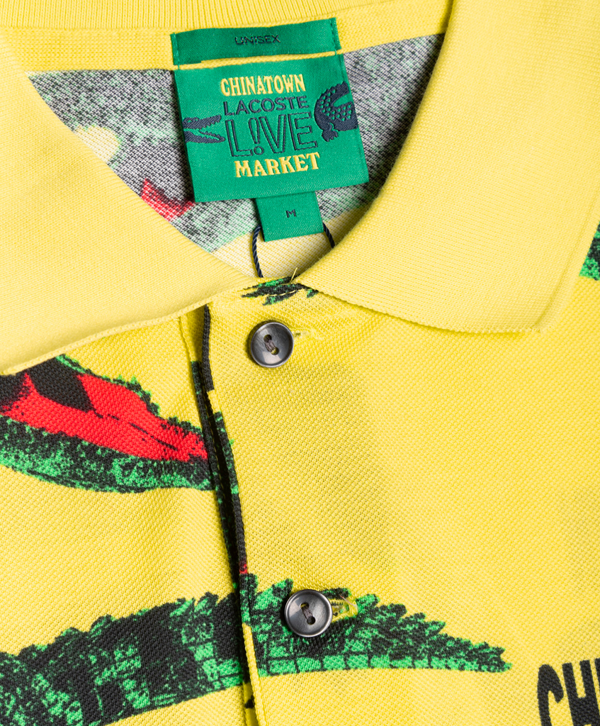Chinatown Market Polo SS Yellow