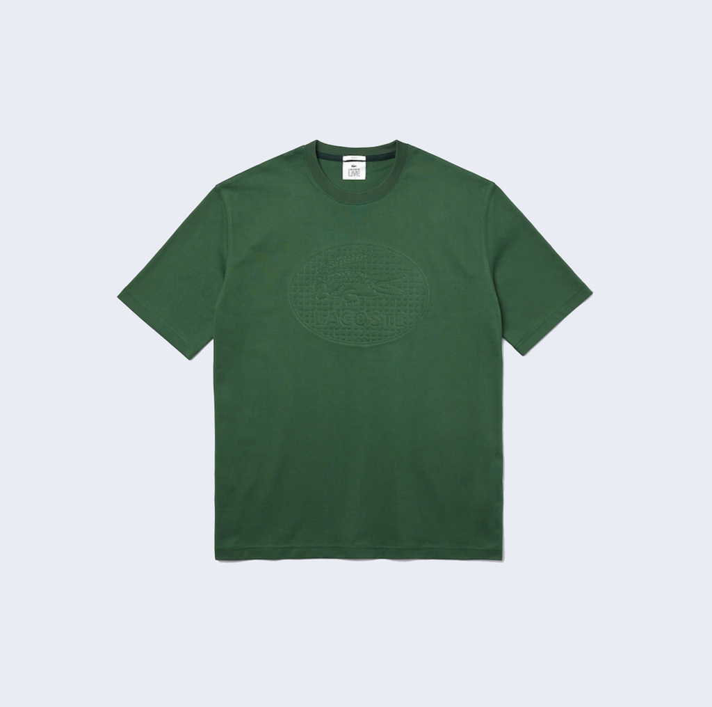 Embroidered Logo Tee Green