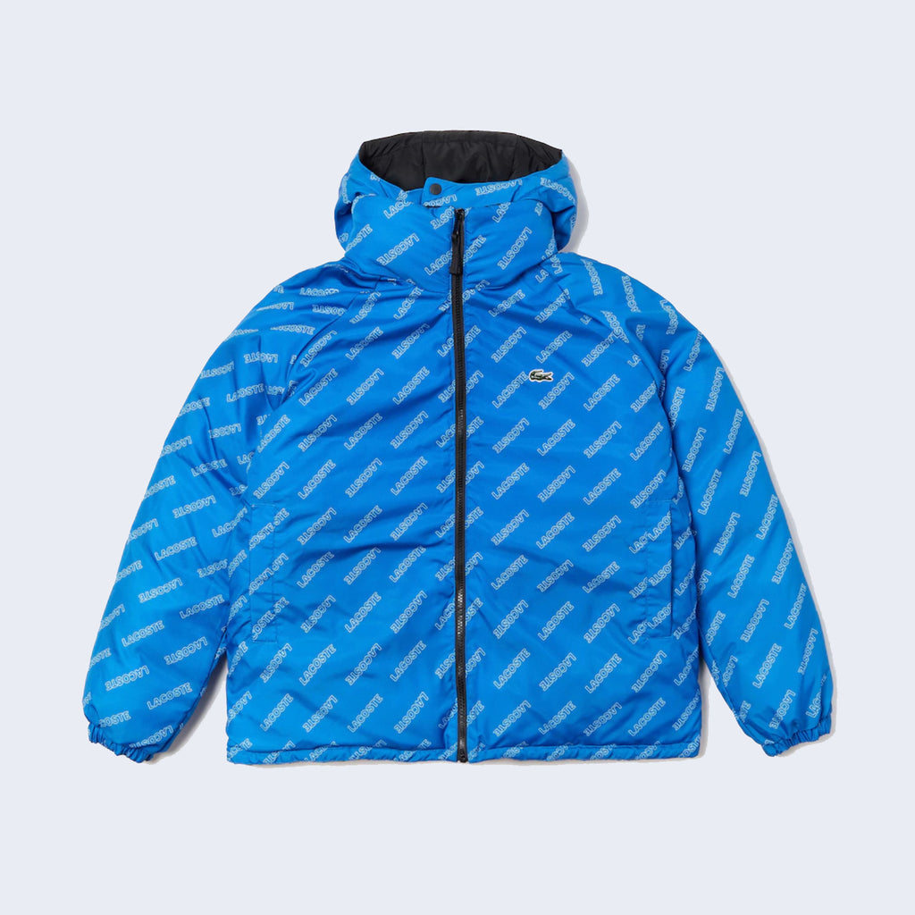 Reversible Puffer Black / Blue
