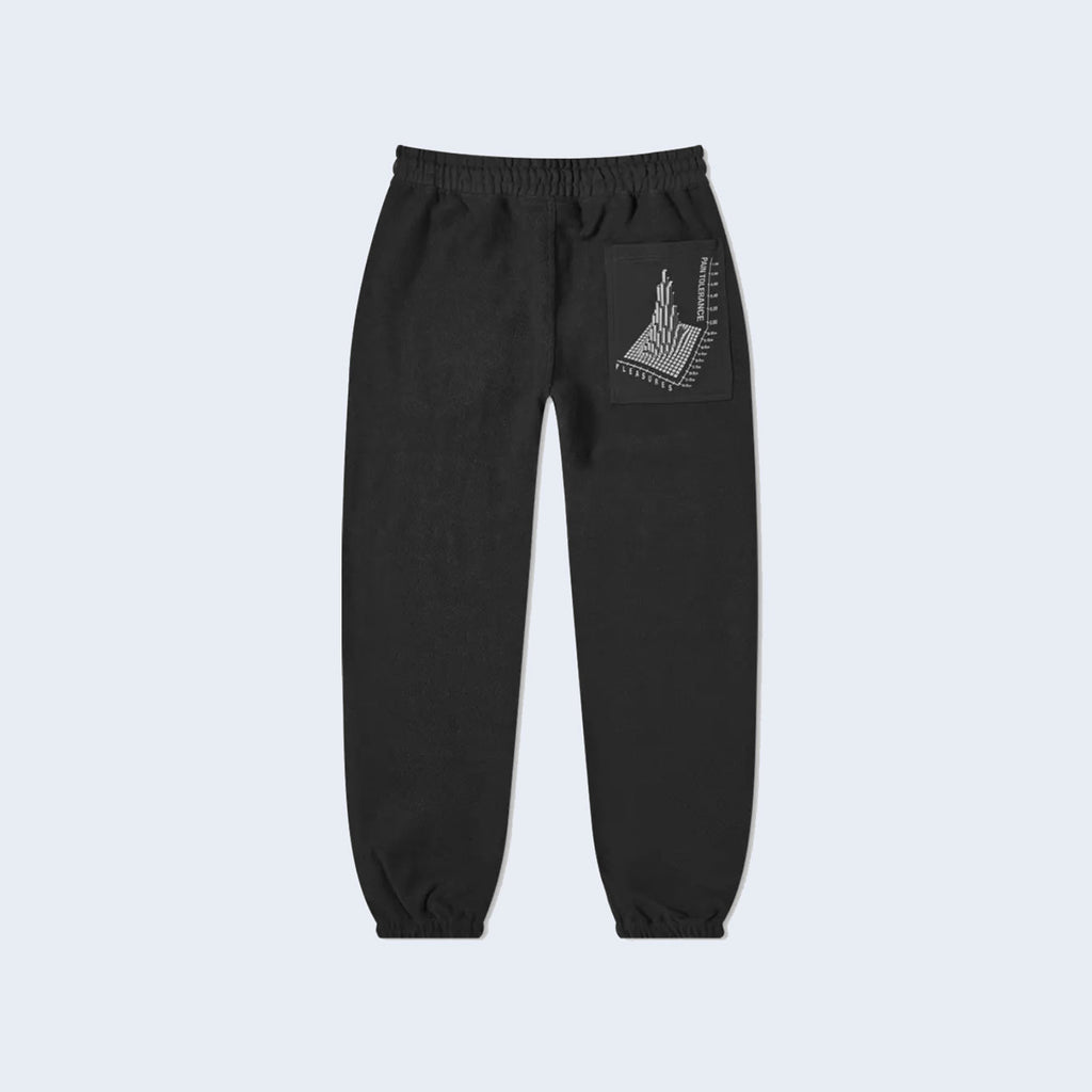Logic Reverse Terry Sweatpants Black