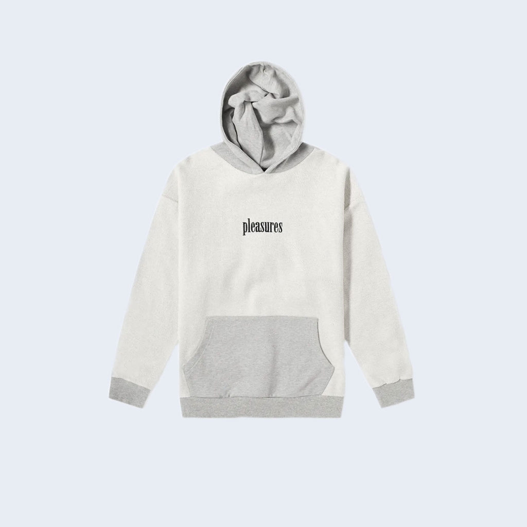 Logic Reverse Terry Hoody Grey