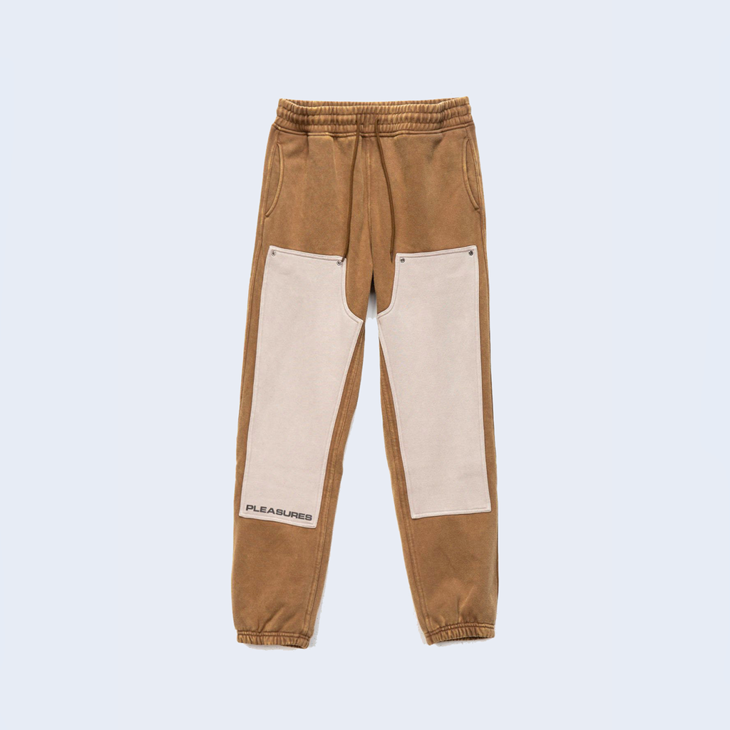 Burn Out Dyed Sweatpant Olive