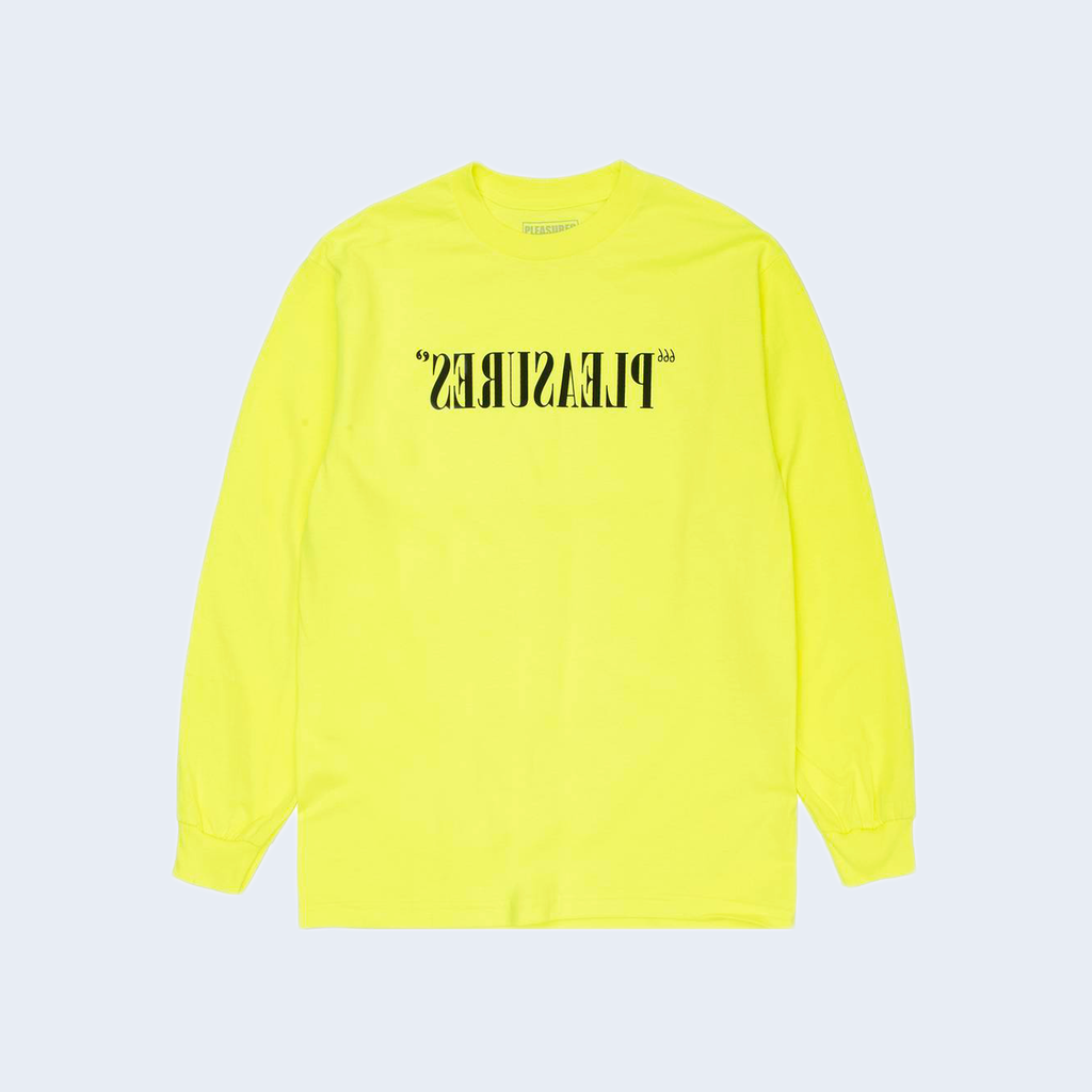 Flipped Logo LS Safety Yellow