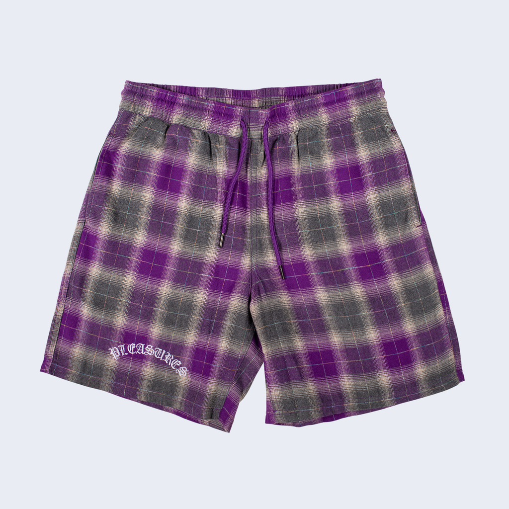 Shadow Plaid Short