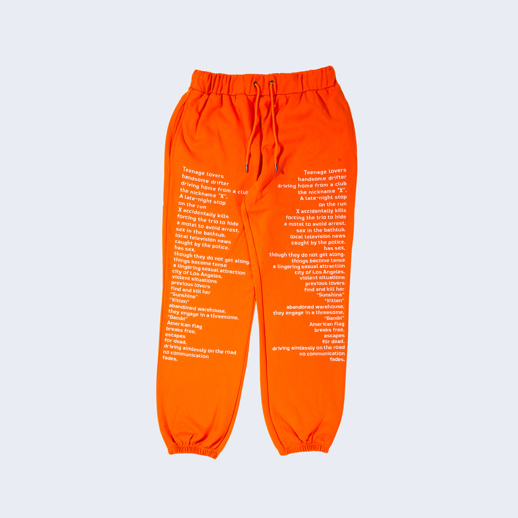 Teenagelover Sweatpants Orange