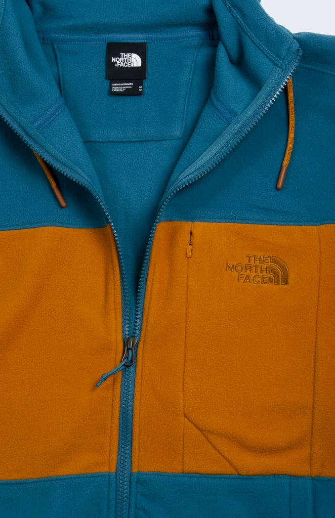 Full Zip Blocked Mallard Blue