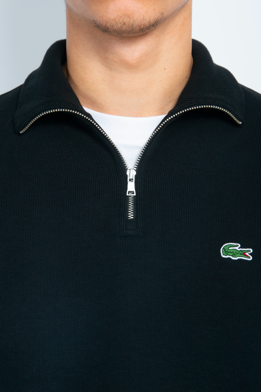 Quarter Zip Black