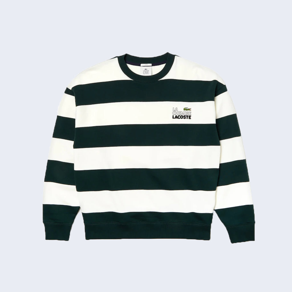 Stripes Green / White
