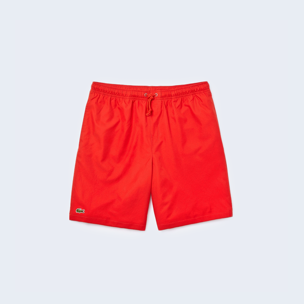 Taffeta Short Red