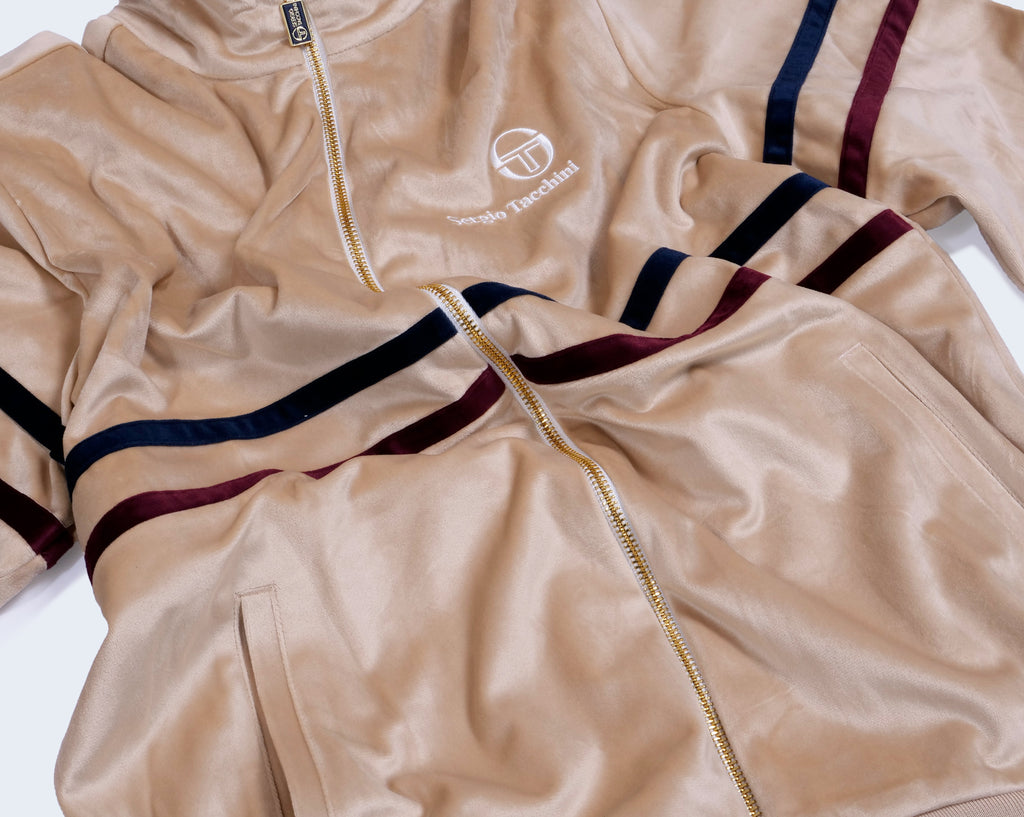 Tracktop Archive Velour Irish Cream
