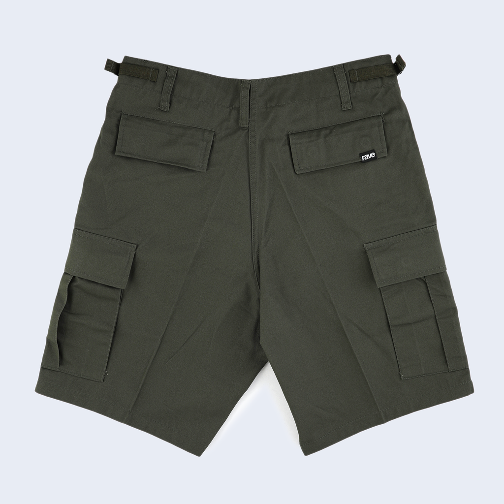 Summit Olive Cargo Short