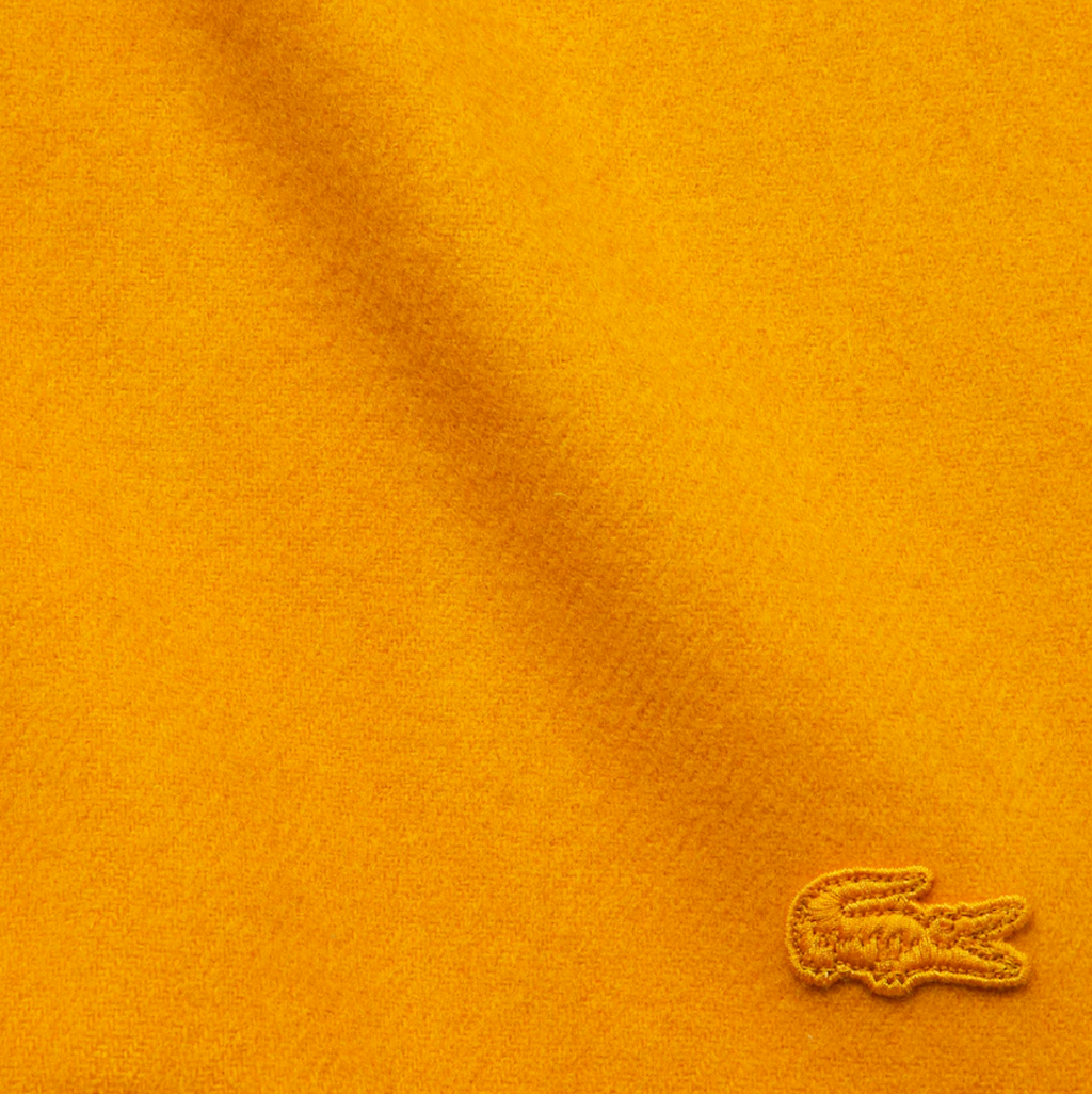 Wool Cashmere Scarf Yellow
