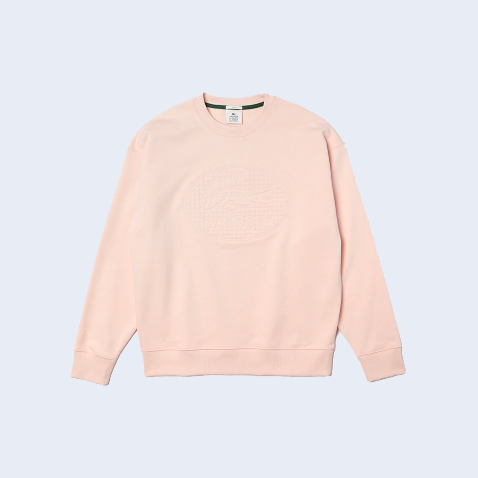 Embroidered Crewneck Pink
