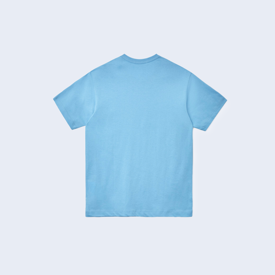 Classic Tee Blue Chest Print