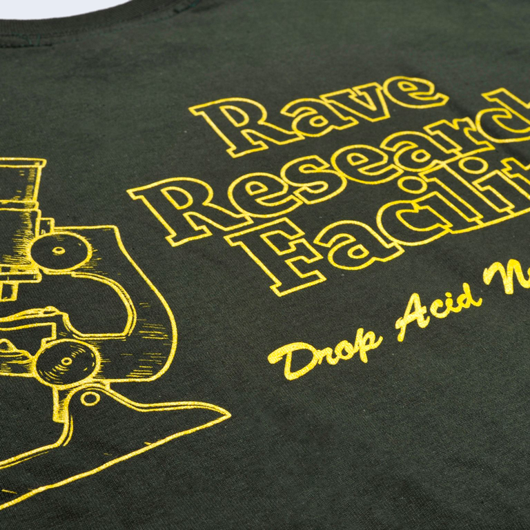 Rave Research Facility Tee Forest
